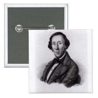 Retrato de Hans Christian Andersen Pins