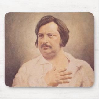 Retrato de Honore de Balzac Alfombrilla De Ratón