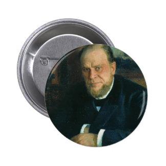 Retrato de Ilya Repin- de Anatoly Fyodorovichm Pins