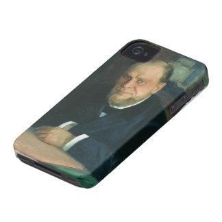 Retrato de Ilya Repin- de Anatoly Fyodorovichm iPhone 4 Fundas