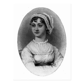 Retrato de Jane Austen Postal
