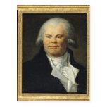 Retrato de Jorte Danton Postal