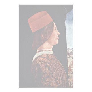Retrato de Juan Ii Bentivoglio Papelería Personalizada