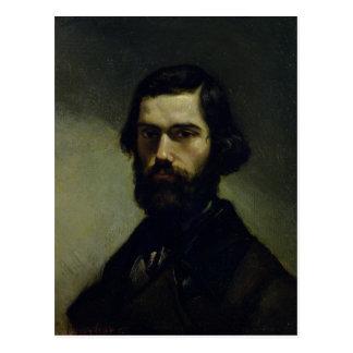 Retrato de Julio Valles c.1861 Postal