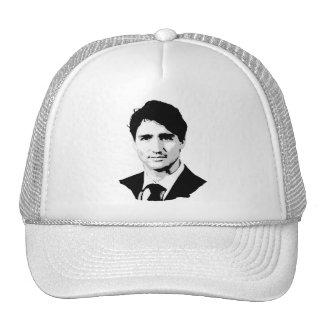 Retrato de Justin Trudeau Gorro