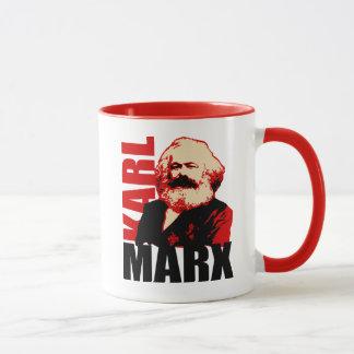 Retrato de Karl Marx, socialista Taza