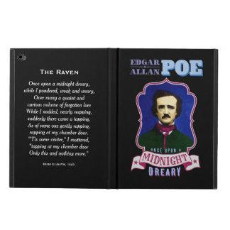 Retrato de la cita del cuervo de Edgar Allan Poe