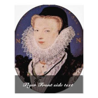 Retrato de la esposa de los artistas, óvalo de Ali Tarjetón