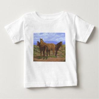 Retrato de la familia camiseta de bebé