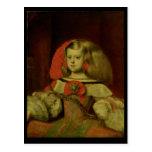 Retrato de la infanta Margarita Tarjetas Postales
