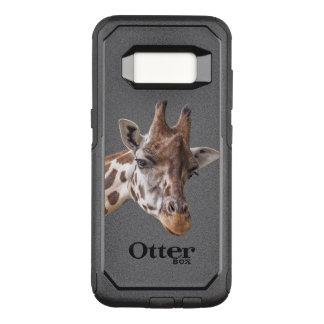 Retrato de la jirafa funda commuter de OtterBox para samsung galaxy s8