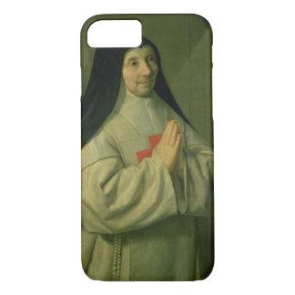 Retrato de la madre Catherine-Inés Arnauld (1593-1 Funda iPhone 7