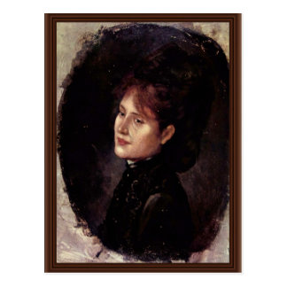 Retrato de la mujer Alexianu de Grigorescu Nicolae Postales