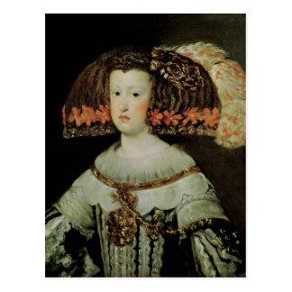 Retrato de la reina Maria Ana de España Postal