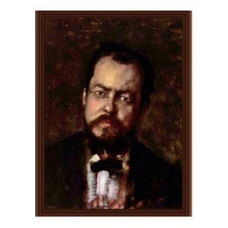 Retrato de Laforce de Grigorescu Nicolae Tarjetas Postales