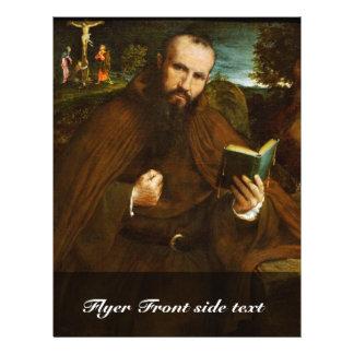 Retrato de los Di Vicenza del Fra Gregorio Belo po Folleto 21,6 X 28 Cm