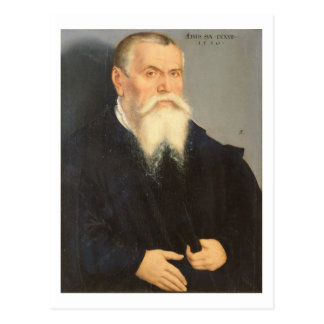 Retrato de Lucas Cranach la anciano (1472-1553) 15 Postal