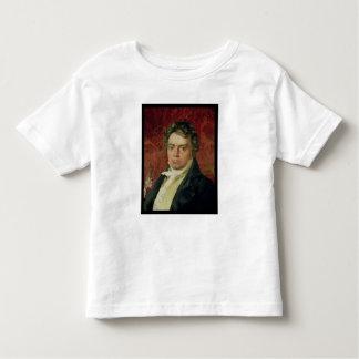 Retrato de Ludwig van Beethoven Camiseta De Bebé