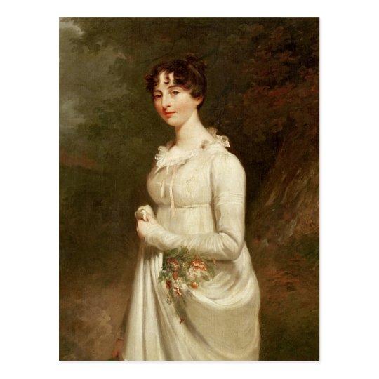 Retrato de Marcia. B. Fox Postal