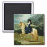 Retrato de Maria Teresa de Vallabriga en horsebac Iman