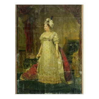 Retrato de Marie-Teresa-Charlotte de Francia Postal