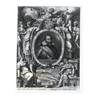 Retrato de Maximiliano I de Baviera Postal