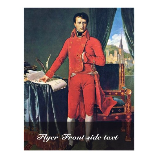 Retrato de Napoleon Bonaparte como primero cónsul, Tarjetas Informativas