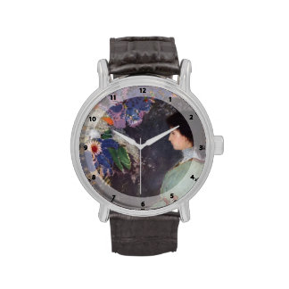 Retrato de Odilon Redon- de Violette Heymann Relojes De Mano