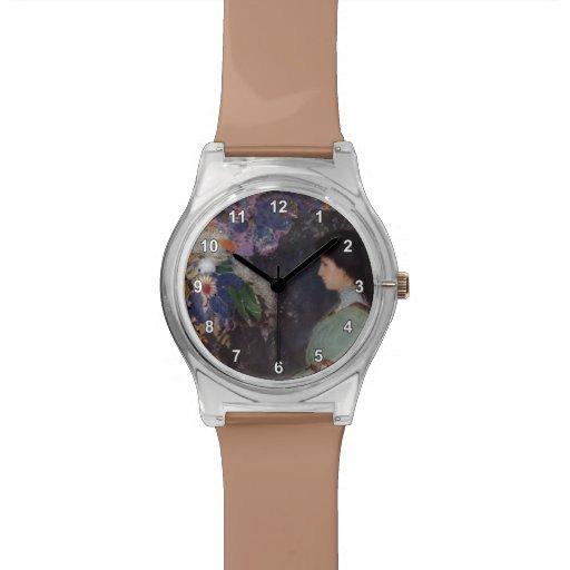 Retrato de Odilon Redon- de Violette Heymann Relojes De Pulsera