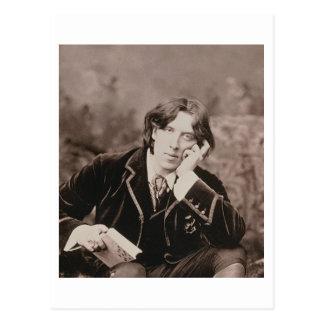 Retrato de Oscar Wilde (1854-1900), 1882 (pho de Postal