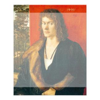 Retrato de Oswolt Krel de Albrecht Durer Tarjetas Publicitarias