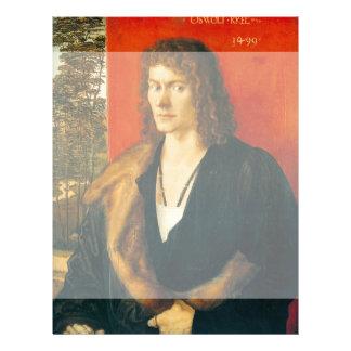 Retrato de Oswolt Krel de Albrecht Durer Tarjetas Informativas