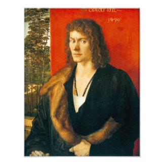 Retrato de Oswolt Krel de Albrecht Durer Impresiones Fotograficas