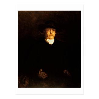 Retrato de Otto von Bismarck (1815-98) (aceite en Postal