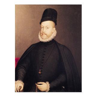Retrato de Philip II c.1580 Postal
