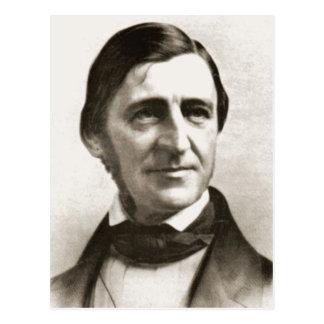 Retrato de Ralph Waldo Emerson Postal