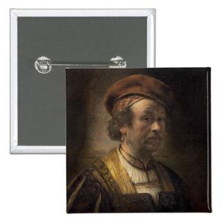 Retrato de Rembrandt, 1650 (aceite en lona) Pin