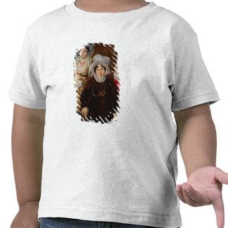 Retrato de señora de Tangry Camisetas