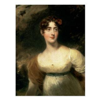 Retrato de señora Emily Harriet Wellesley-poste Postal