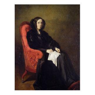 Retrato de señora Poullain-Dumesnil, 1842 Postal