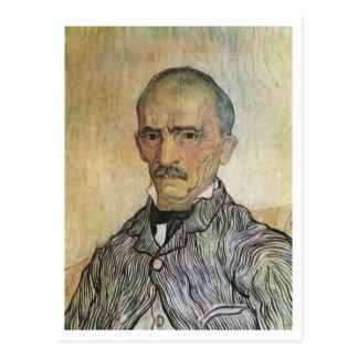 Retrato de Trabuc, pintura de la bella arte de Van Postal