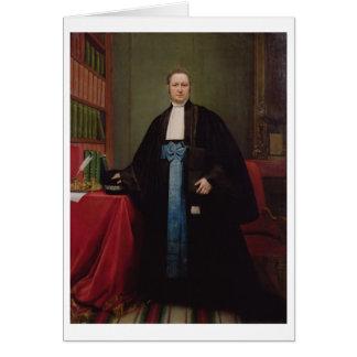 Retrato de un abogado en su biblioteca, 1852 (acei tarjeta de felicitación