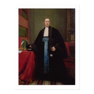 Retrato de un abogado en su biblioteca, 1852 postal