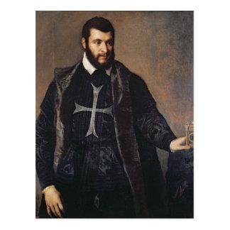 Retrato de un caballero de la orden de Malta Postal