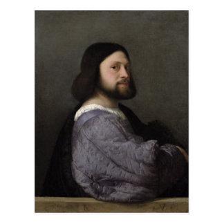 Retrato de un hombre, c.1512 postal