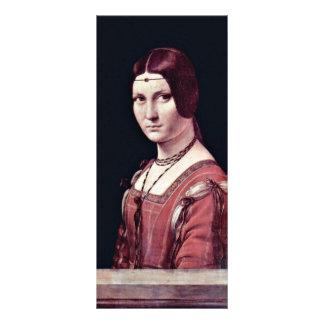 Retrato de una mujer joven belleza Ferronière del Lonas Personalizadas