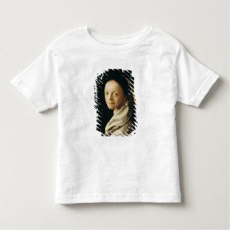 Retrato de una mujer joven, c.1663-65 camisas