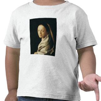Retrato de una mujer joven c 1663-65 camiseta