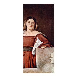 Retrato de una mujer (La Schiavona) por Tizian Lona Publicitaria