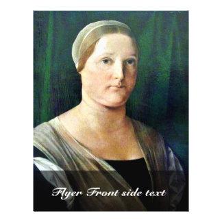 Retrato de una mujer por la loteria Lorenzo (la me Folleto 21,6 X 28 Cm